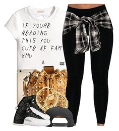 """""""I Almost got in Three Car Accidents Yesterday--Friday the 13th Blues"""" by nasiaswaggedout ❤ liked on Polyvore featuring H&M, MCM, Tavik Swimwear and Retrò"""
