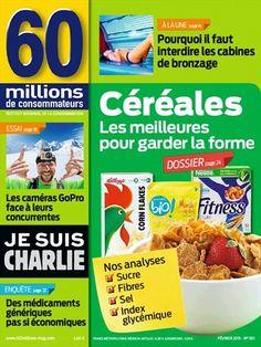 Céréales, les meilleures pour garder la forme -  60 Millions de Consommateurs - Numéro 501