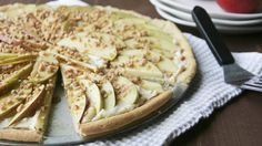 Caramel Apple Cookie Pizza