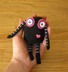 ninja, sock monster