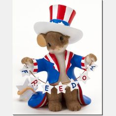 Charming Tails | Charming Tails Patriotic Figurines