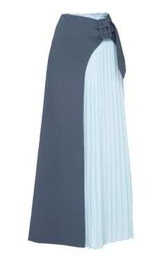 This **REJINA PYO** Linda Pleated Panel Skirt features a high waist, a pleated panel starting at the left hip, and a maxi silhouette. Skirt Outfits, Dress Skirt, Cute Outfits, African Fashion, Korean Fashion, Hijab Fashion, Fashion Dresses, Skirt Patterns Sewing, Mode Hijab