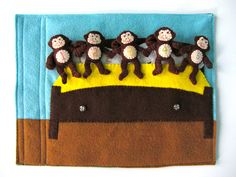 Five Little Monkeys Quiet Book Page... almost done!