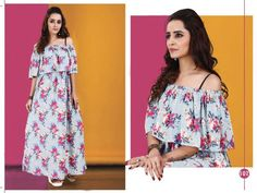 Fashid Wholesale provides rose by jugni kurtis 101 to 108 series stylish western fancy beautiful casual wear & ethnic wear crepe printed kurtis at wholesale price.