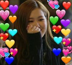 Blackpink Memes, Funny Kpop Memes, Meme Faces, Funny Faces, Yg Entertainment, Pink Movies, Heart Meme, Blackpink Funny, Emoji Love