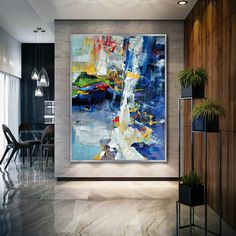 """Excellent """"contemporary abstract art modern"""" detail is available on our site. Check it out and you wont be sorry you did. Large Canvas Art, Abstract Canvas Art, Canvas Wall Art, Abstract Oil, Unique Paintings, Art Paintings, Indian Paintings, Abstract Paintings, Painting Art"""