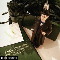 We're so proud of our special edition Little Churchill . Thanks for sharing 😊 ・・・ with ・・・ This chap had to come home with me and live on my tree. Thanks Bombki! Bauble, Churchill, Xmas Tree, Ww2, Christmas Decorations, Thankful, Anniversary, Hand Painted, Ornaments