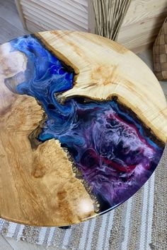 Rustic Coffee Tables, Round Coffee Table, Wooden Tables, Cozy Place, One And Only, Art Pieces, Unique, Dreams, Interior