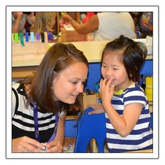 """Listening to Children's Stories - """"The one-on-one story dictation time gave me an opportunity to intentionally engage in powerful listening and to focus on and be present for the child."""""""