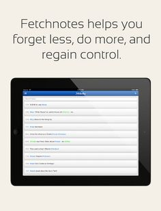 Fetchnotes - A Free & Simple Notes App for Your iPad