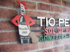 Letrero en madera para decorar. http://tumuebleconsolajvg.webs.tl