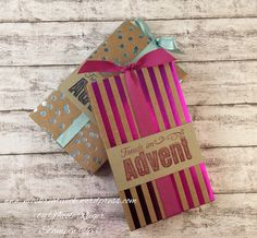 Stampin Up_Mini-Adventskalender_Schachtel voller Liebe_Metallic-Glanz