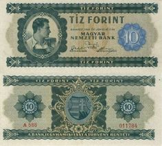 Hungarian Forint Hungary History, Money Notes, Old Money, Folk Music, Budapest, Old Photos, Decorative Boxes, Blog, Classic