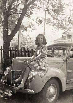 Shrewsbury, Missouri, c.1945  this looks so much like my Grandma, who lived her whole life in Missouri...