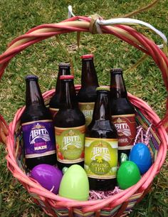 Bloody mary adult easter basket gift baskets pinterest the perfect adult easter basket negle
