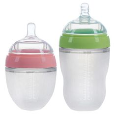 4 Styles Baby Bottle Newborn Wide Caliber Anti-flatulence Silicone Bottle with Handle Baby Supplies Kids Milk Food Feeding Tools Best Baby Bottles, Freezer Containers, Baby Supplies, Bottle Feeding, Powdered Milk, Cleaning Solutions, Baby Feeding, Tools, Free Shipping
