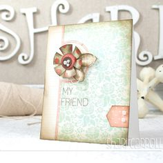 Created by Shari Carroll for the Simon Says Stamp Stamptember Blog Hop using new Simon Exclusives. 2013