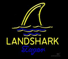 Jimmy Buffett Landshark Lager Beer Real Neon Glass Tube Neon Sign,Affordable and durable,Made in USA,if you want to get it ,please click the visit button or go to my website,you can get everything neon from us. based in CA USA, free shipping and 1 year warranty , 24/7 service