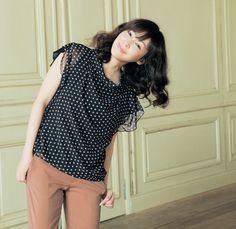 麻生久美子さんが着る、クラシック&モダン - STYLE LOOK
