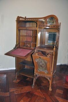 Secretary Desk Victorian Antique