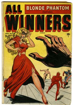 Al Avison | All Winners Comics #1 | Timely | 1948