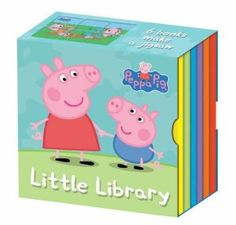 Amazon.com: Peppa Pig's Little Library (Peppa Pig) (9781846467646): Neville Astley: Books