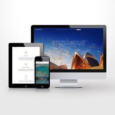 Responsive Wordpress website UI. #wordpress #CSS #responsive #sydney #ocean #tours #webdesign #websitedesign #landingpage