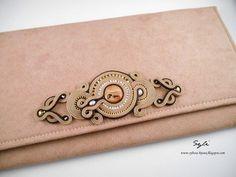 Soutache Bracelet, Soutache Jewelry, Beaded Jewelry, Handmade Bags, Handmade Jewelry, Pearl Embroidery, Jewelry Candles, Necklace Tutorial, Leather Art