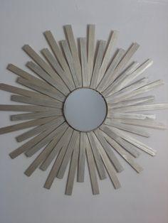 The Potters: Sunburst Mirror DIY