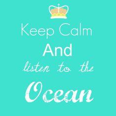 listen to the ocean #meditation