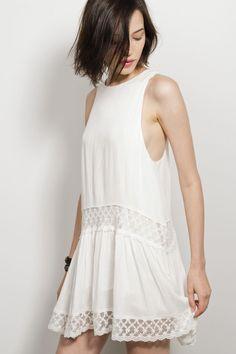 HelloMolly | Free Spirit Dress White