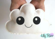 Cloud Softie, Cloud pillow, Baby Decor, Nursery Decor, Baby Shower Gift, Gift Baby, Cloud Nursery, Mintgreen Nursery, Unisex Nursery - pinned by pin4etsy.com