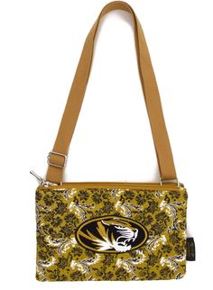 Wings Missouri Tigers Quilted Cotton Cross Body Purse f2bb16d7c1ab4