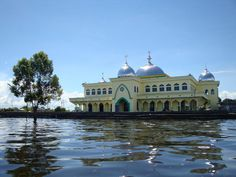 Kutai Kartanegara mosque, east Kalimantan Indonesia