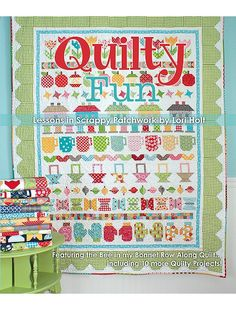 """Quilty Fun"" book by Lori Holt of Bee in my Bonnet (from It's Sew Emma)"