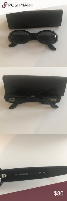 Gucci Authentic Gucci sunglasses w authentic cases. Good lightly used condition, no scratches on lenses Gucci Accessories Sunglasses