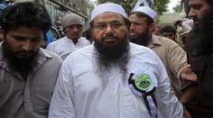 Hafiz Saeed leads Eid prayers in Lahore