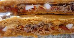 La empanada murciana es una de las que menos veo en el mundo de la blogosfera. Se habla mucho de la empanada gallega o del horna...
