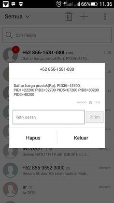 Harga promo Indosat