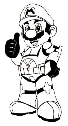 Splatoon Inkling Coloring Pages