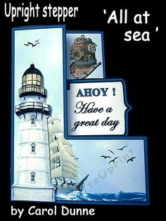 An upright stepper kit lighthouse decoupage layers. Easy to make following the photographic instructions in the kit. Fits into a standard size C5 envelope when finished. Suitable for general birthdays but also has a blank label so you can use your own words making it suitable for any other occasions too.