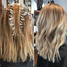 Top 100 partial highlights photos | #Foils on foils with a dreamy ash blonde result. #Color by Jessica.