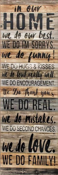 In Our Home House Rules Family Wall Hanging Sign Plaque 120cm | Home, Furniture & DIY, Home Decor, Plaques & Signs | eBay!