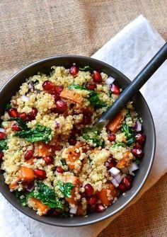 Quinoa com frango thai é uma ótima pedida para um almoço em família!