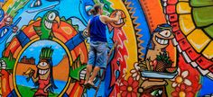 Cartagena graffiti festival features community and international urban art Colombia News | Colombia Reports