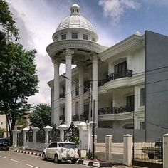 Domed porte-cochere thing, Palembang, South Sumatra, Indonesia