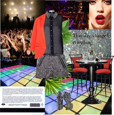 """""""☻ Disco look ☻"""" by gagulina ❤ liked on Polyvore"""