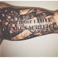 32 Unique Wrist Tattoos For Guys – Sleeve Ideas Patriotische Tattoos, Army Tattoos, Forarm Tattoos, Texas Tattoos, Military Tattoos, Badass Tattoos, Viking Tattoos, Sleeve Tattoos, Firefighter Tattoos