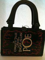 Edgar Allan Poe - Handmade Book Purse