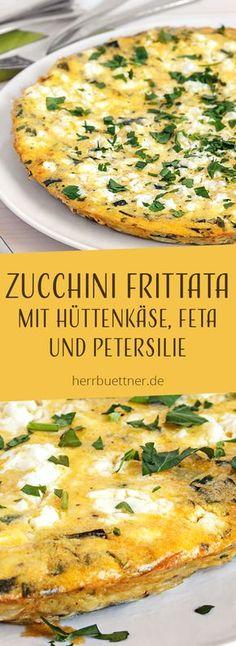- Zucchini Frittata with cottage cheese, feta cheese and . - Fratted Zucchini … – Zucchini Frittata with cottage cheese, feta cheese and parsley. Crockpot Recipes, Keto Recipes, Vegetarian Recipes, Dinner Recipes, Healthy Recipes, Soup Recipes, Zucchini Frittata, Clean Eating Recipes, Clean Eating Snacks